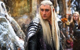 Lee Pace In The Hobbit 2014
