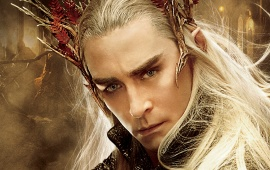 Lee Pace In The Hobbit: The Desolation Of Smaug