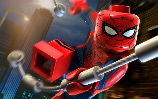 Lego Civil War Spider-Man (click to view)