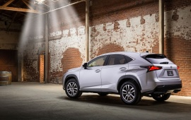 Lexus Nx Rear Look 2015