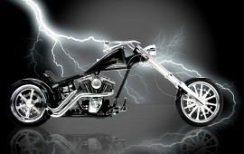 Lightning on a Bike