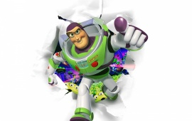 Lightyear Running Cartoon