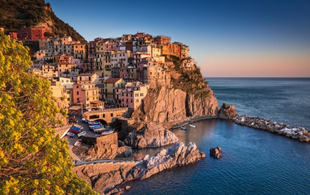 Liguria Coast Italy (click to view)