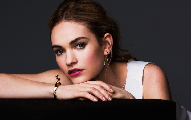 Lily James Actress (click to view)
