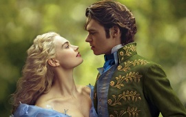 Lily James And Richard Madden Cinderella Movie