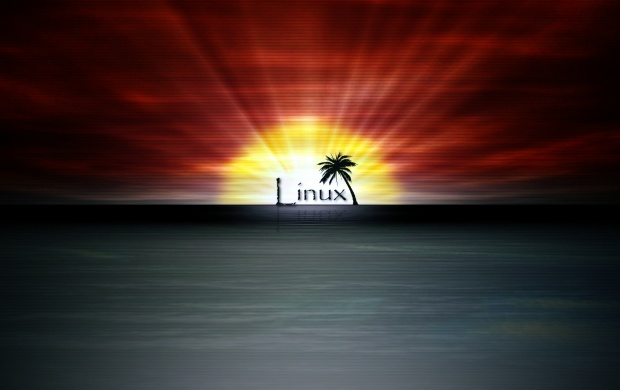 Linux Sunset (click to view)