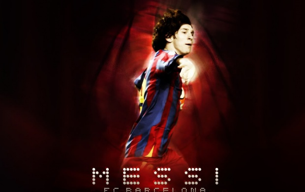 Lionel Messi - FC Barcelona (click to view)