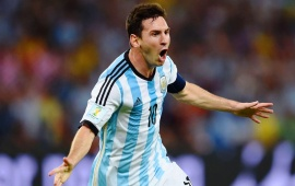 Lionel Messi Brazil World Cup 2014