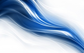 Liquid Fractal Blue Wave