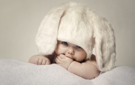 Little Baby Bunny Hat