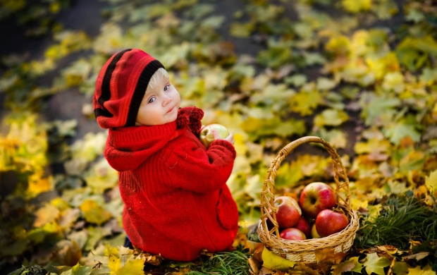 Little Girl In Red Sweater (click to view)