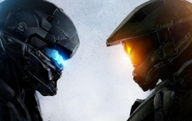 Locke Vs Chief Halo 5