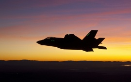 Lockheed Martin F-35 Lightning II Sunset