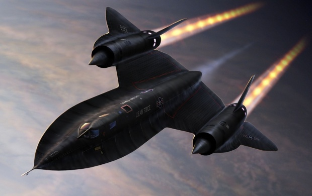 Lockheed Sr-71 Blackbird (click to view)