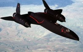 Lockheed SR-71 Blackbird Flight