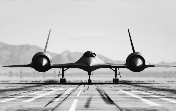 Lockheed SR-71 Blackbird The Scout (click to view)