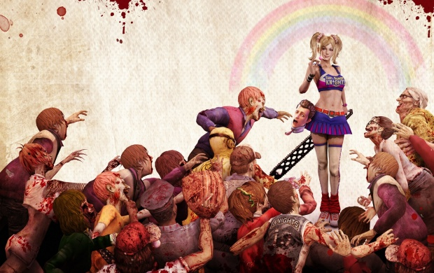 Lollipop Chainsaw Zombie Game (click to view)