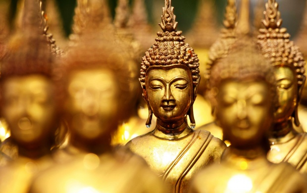 Lord Buddha Brass Statues (click to view)