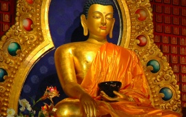 Lord Buddha In The Bhumisparsha