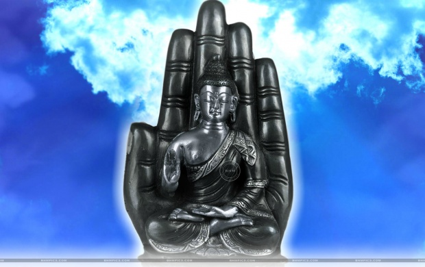 Lord Buddha Seated On Lotus (click to view)