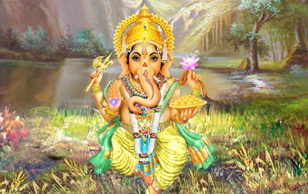 Lord Ganesha (click to view)