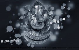 Lord Ganesha Abstract Background