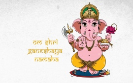 Lord Ganesha Cartoon