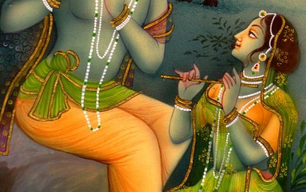 Lord Krishna Radha Painting (click to view)