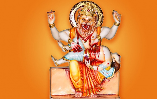 Lord Narasimha (click to view)