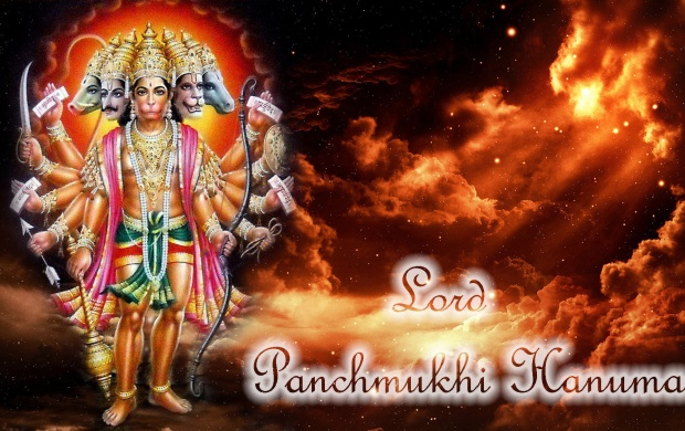 Lord Panchmukhi Hanumaan (click to view)