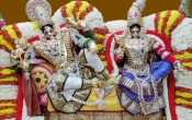 Lord Radha Krishna With Jewelry