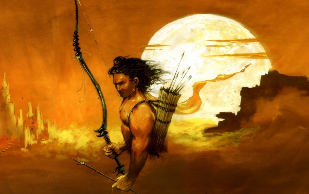 Lord Rama Paintings (click to view)