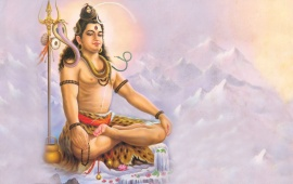 Lord Shiva On Meditation