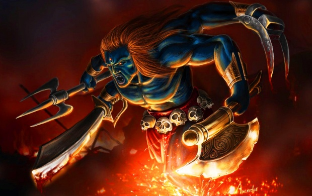 Wallpapers Lord Shiva Angry Photos Hd Kaal Bhairav 4: Lord Veerabhadra Wallpapers