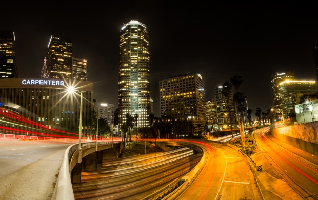 Los Angeles Lights Street (click to view)