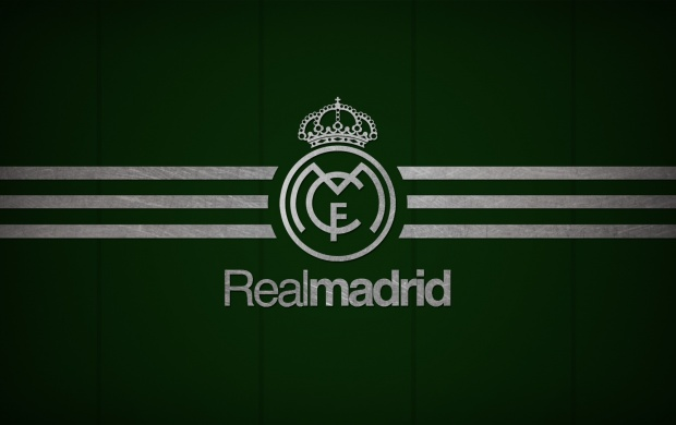 Los Blancos Logo Real Madrid C.F. (click to view)