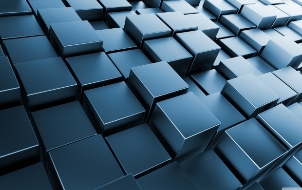 Lots of Metallic Cubes (click to view)