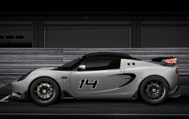 Lotus Elise S Cup R 2014 Side View