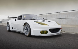 Lotus Evora GX Front Side View