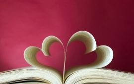 Love Book Love Heart