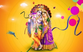 Love Filled Devotion Of Sri Radha And Shri Krishna
