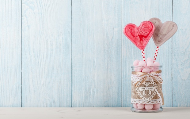 Love Heart Lollypop Romantic (click to view)