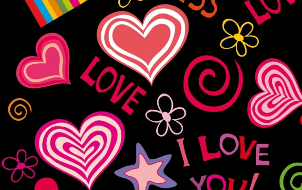 Love Hearts Sweet Vector (click to view)