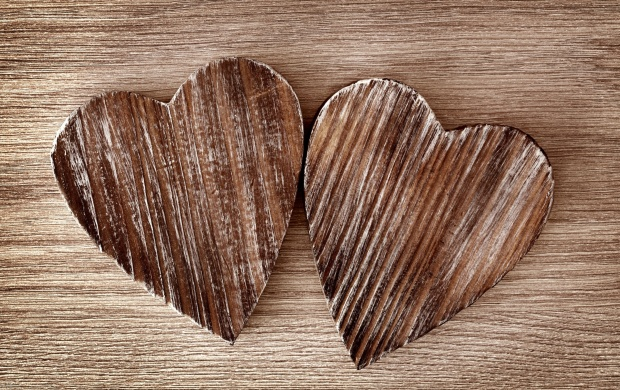 Love Hearts Wood (click to view)
