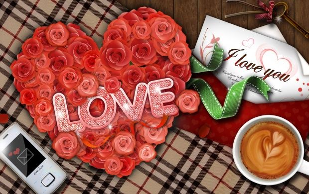 Love Roses And Coffee (click to view)