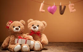 Love Sweet Heart Romantic Teddy
