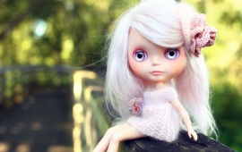 Lovely Doll With Big Eyes