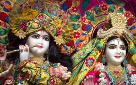 Lovely Radha And Krishna