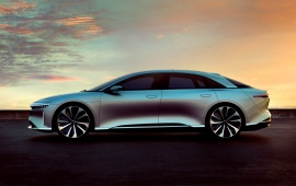 Lucid Air Concept 2016 Side