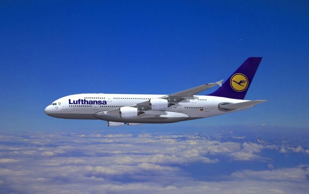 Lufthansa Airlines Airbus A380 (click to view)